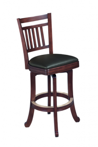 Brunswick Heritage Bar Stool Wood - Billiard Supplies