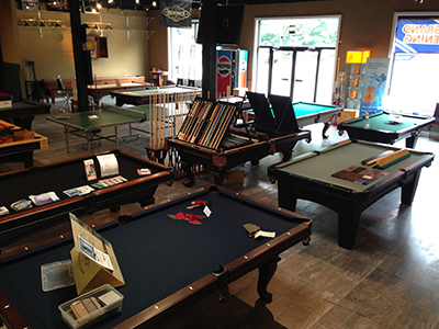 Pool Tables Black Pine Spas