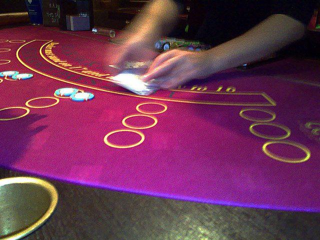 game room decor casino