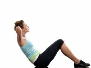 sauna-exercises-crunches
